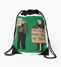 Father Ted Drawstring Bag