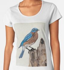 Eastern Bluebird Women's Premium T-Shirt