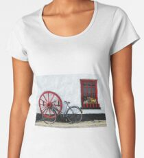 Irish country pub near Crolly Rosses Bay Women's Premium T-Shirt