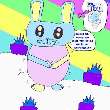Rabbit Gotta Go by stoptime341