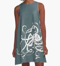 Biomechanical Octopus A-Line Dress