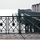Railings on Hastings Seafront by Andy Coleman