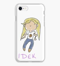 IDEK potato dork iPhone Case/Skin