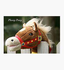 Phony Pony Photographic Print