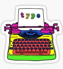 type type type type Sticker