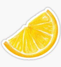 Zitronen-Aufkleber Sticker