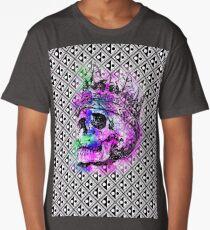 SKULL KING AND PATTERN Long T-Shirt