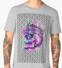 SKULL KING AND PATTERN Männer Premium T-Shirts