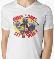 """Hearthstone - """"EVERYONE, GET IN HERE!"""" Mens V-Neck T-Shirt"""
