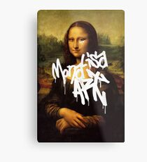 Mona Lisa Art Metal Print