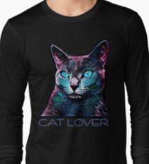CAT LOVER CRASSCO RUSSIAN BLUE Long Sleeve T-Shirt