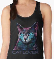 CAT LOVER CRASSCO RUSSIAN BLUE Tanktop für Frauen