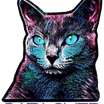 CAT LOVER CRASSCO RUSSIAN BLUE by fuxart