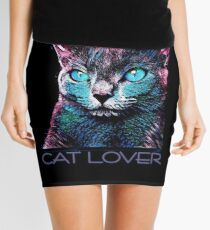 CAT LOVER CRASSCO RUSSIAN BLUE Minirock