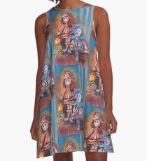 Teddy Bear and Dolls A-Line Dress