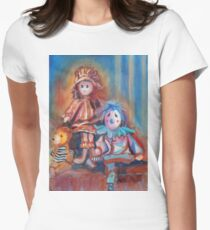 Teddy Bear and Dolls Women's Fitted T-Shirt