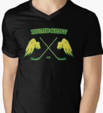 Humboldt Hockey Men's V-Neck T-Shirt