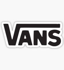cheap vans logo Sticker
