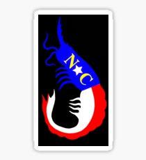 NC Shrimp  Sticker