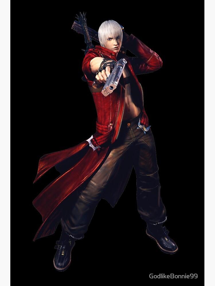 Devil May Cry 3 Dante Art Board Print By Godlikebonnie99