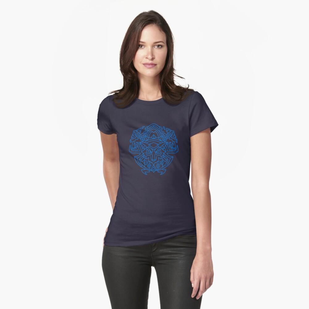 Schamane - Klassenwappen (Farbe) Tailliertes T-Shirt