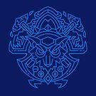 Shaman – Class Crest (color) by dcmjs