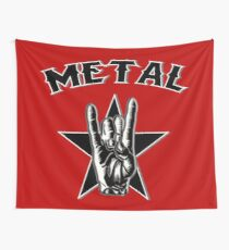 METAL - HEAVY METAL Wall Tapestry