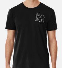 wubba lubba dub überspielen Männer Premium T-Shirts