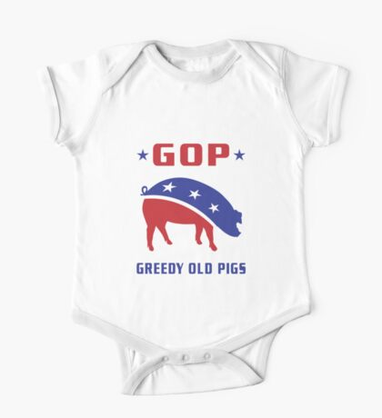 GOP Greedy Old Pigs Kids Clothes