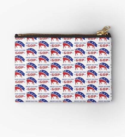 GOP Greedy Old Pigs Studio Pouch