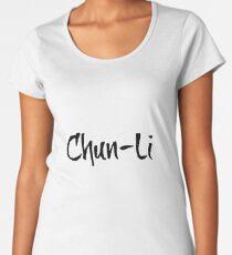 Chun-Li Women's Premium T-Shirt