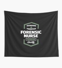 Forensic Nurse Logo Gift Ideas Wall Tapestry