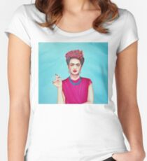 "Frida Kahlo ""Ultimate"" Women's Fitted Scoop T-Shirt"