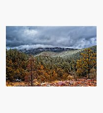 Storm On The Mountain Photographic Print