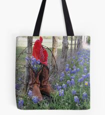 Boots 'n Bluebonnets Tote Bag