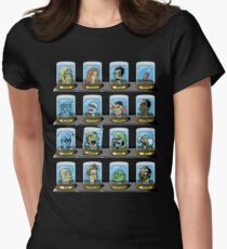 Doctorama 2.0 Womens Fitted T-Shirt