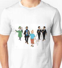 Tintin + Friends Unisex T-Shirt