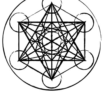 Metatron's Cube - Sacred Geometry Design by calebprue