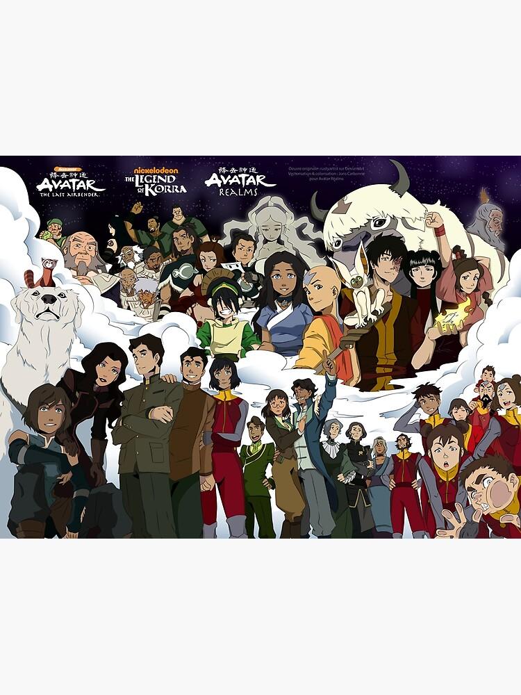 Personajes del universo Avatar de Realms-Fantasy