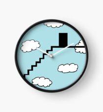 Treppe zu den Wolken Uhr