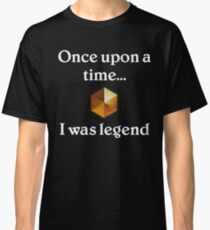 Once upon a time I was legend | Hearthstone Rank Classic T-Shirt