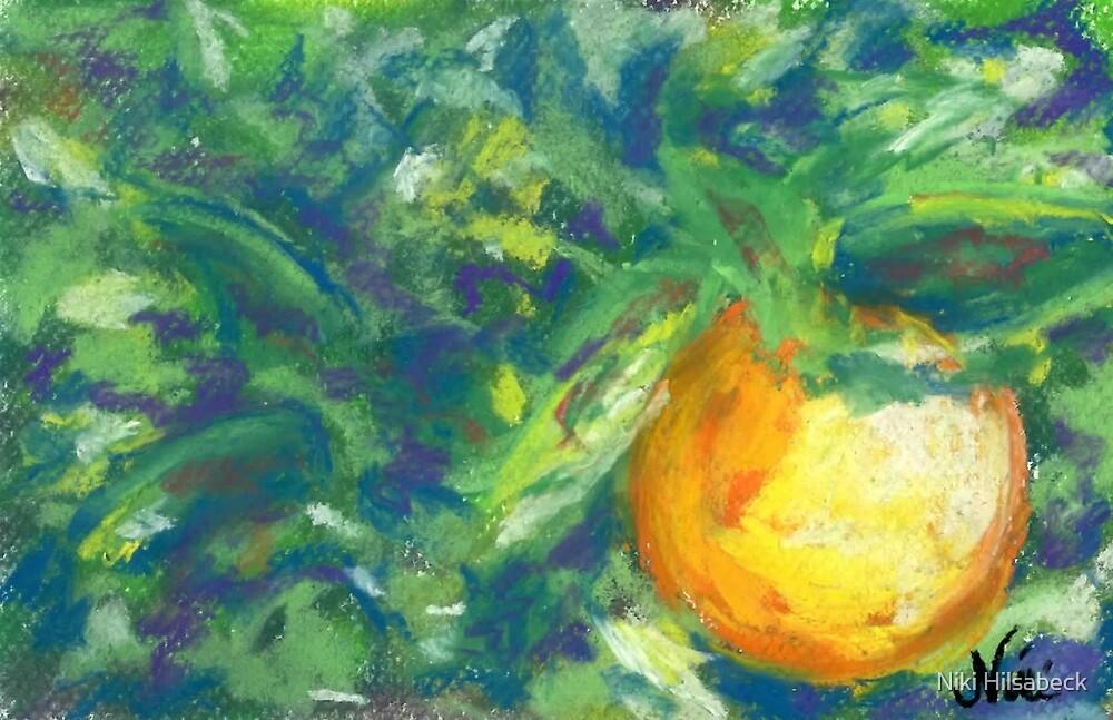 L'Orange (pastel) by Niki Hilsabeck