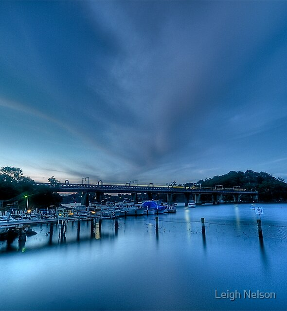 Electric Blue by Leigh Nelson