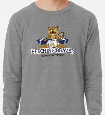 Belching Beaver Brewery Logo 11 Lightweight Sweatshirt