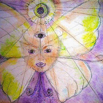 Butterfly Mandala ! by MardiGCalero