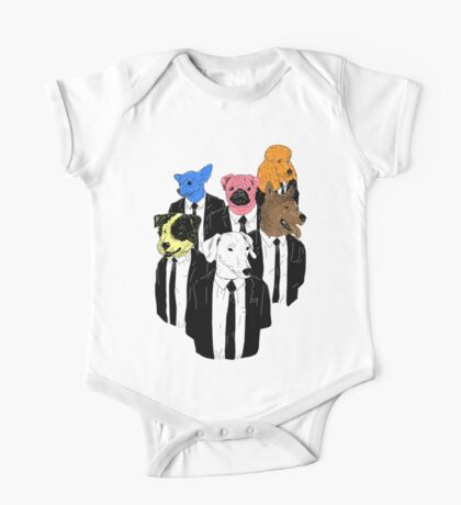 Real Reservoir Dogs sticker Kids Clothes