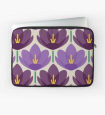 Crocus Flower Laptop Sleeve