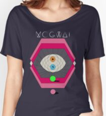 MOGWAI'S EYES Women's Relaxed Fit T-Shirt