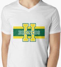 Humboldt Broncos Men's V-Neck T-Shirt