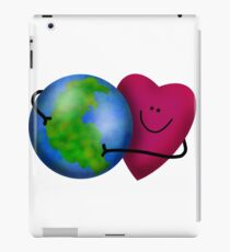 Give the World a Hug iPad Case/Skin